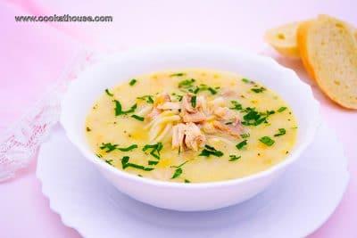 вкусна пилешка супа