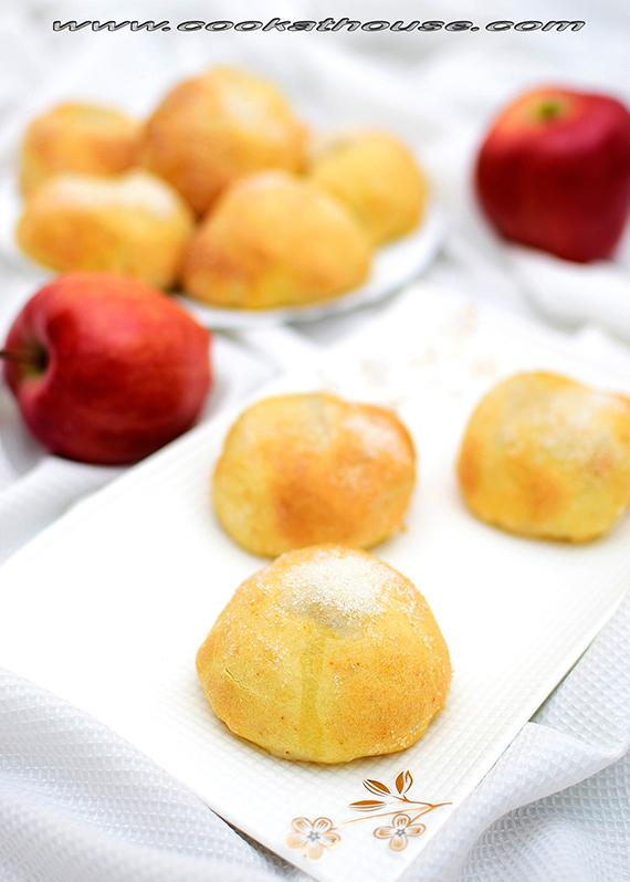 облечени ябълки