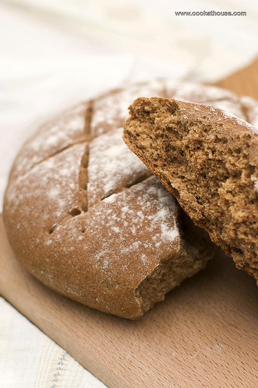 пшенично-ръжен хляб