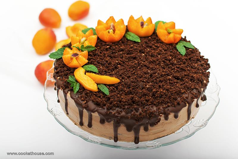 шоко торта