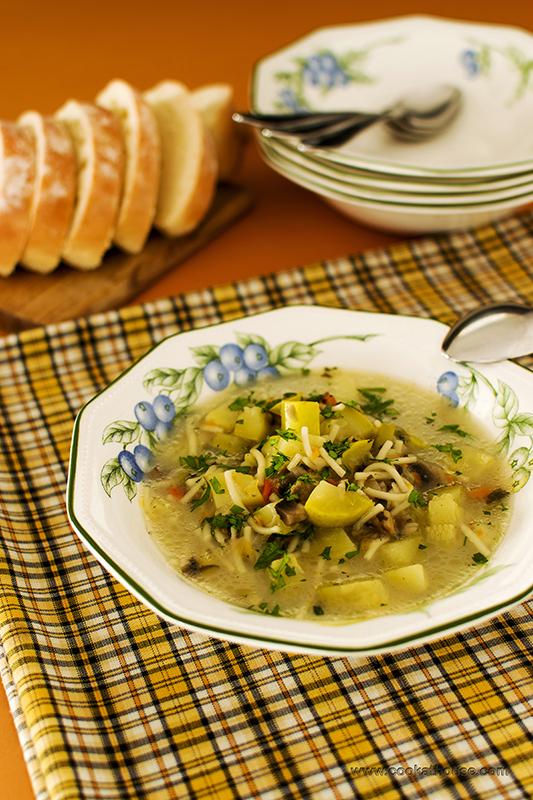 супа със зеленчуци