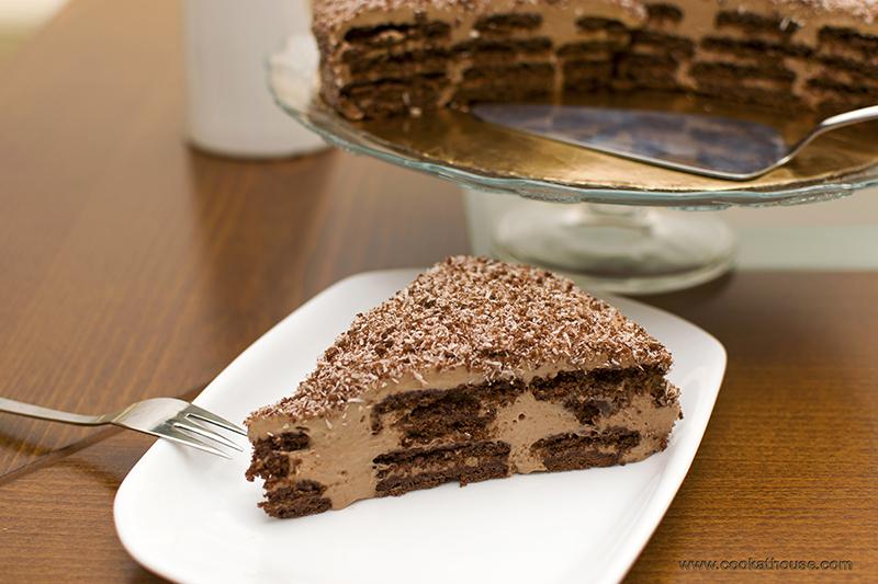 нутела торта