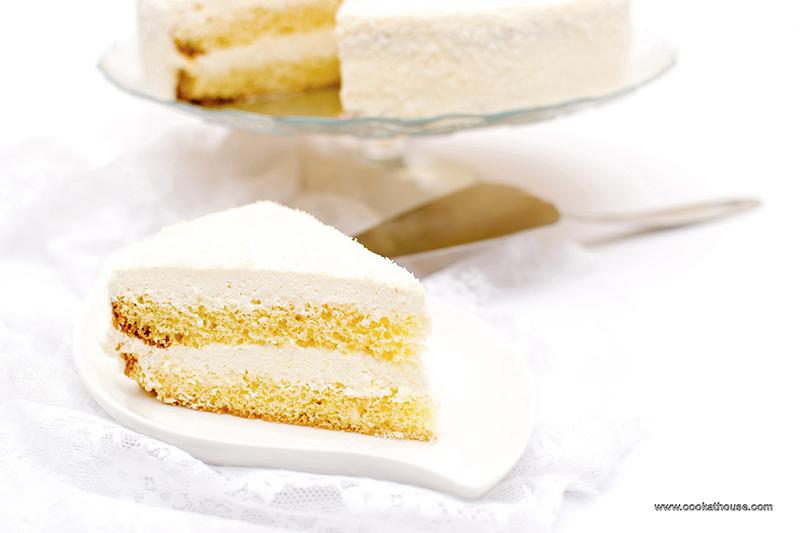 торта със сметана