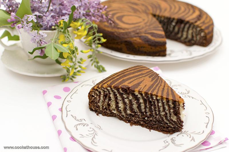 торта зебра